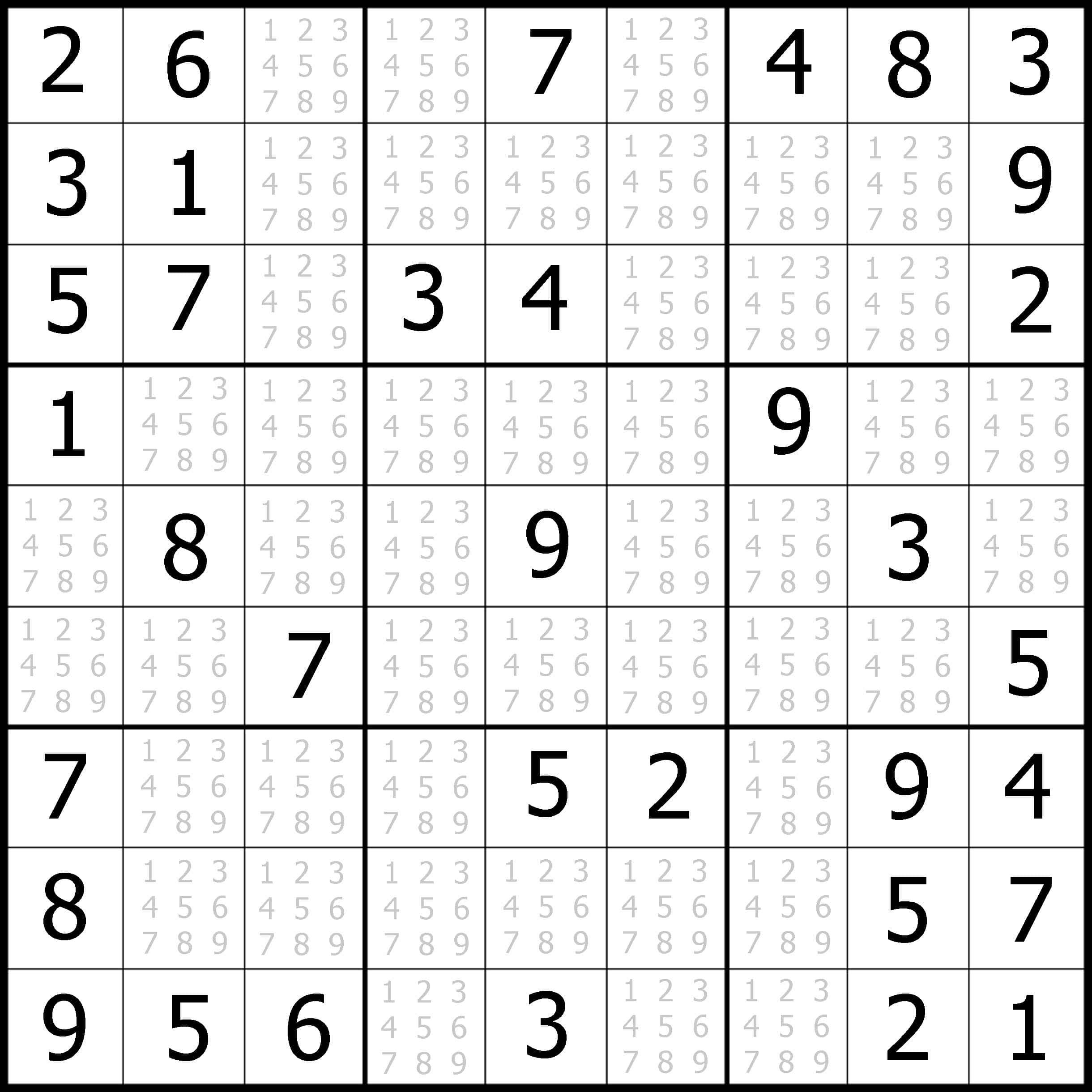 Online Easy Sudoku For Kids