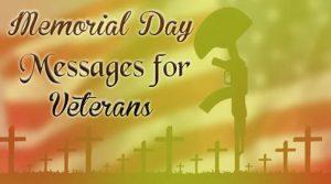 Online Memorial Day Message