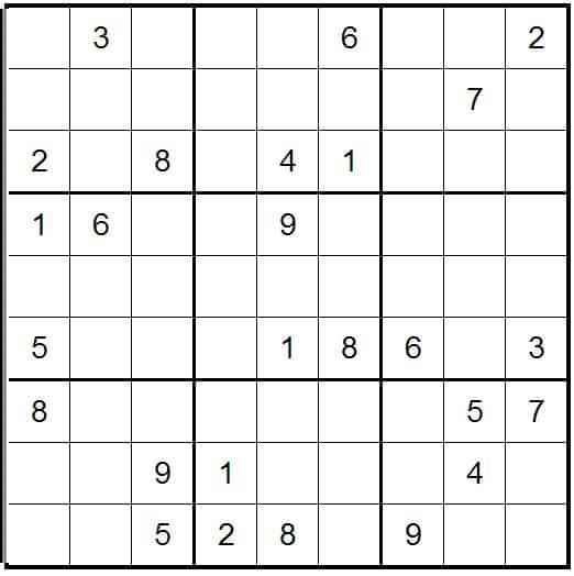 Online Sudoku Daily
