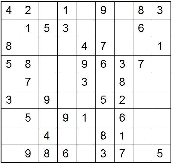 Online Sudoku For Kids Printable