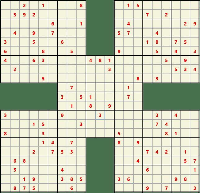 Online Sudoku Print