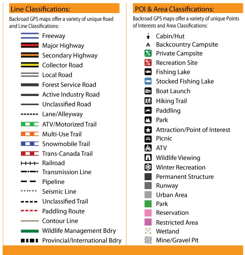 Ontario Road Map Symbols Free Hd Images