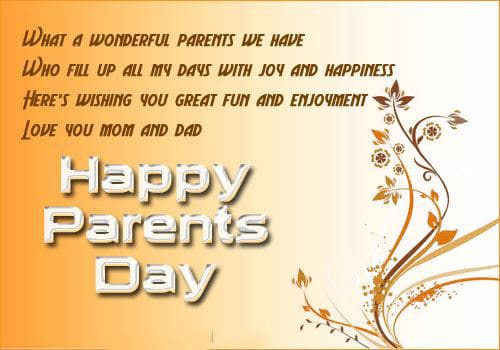 Parents Day Background Photo