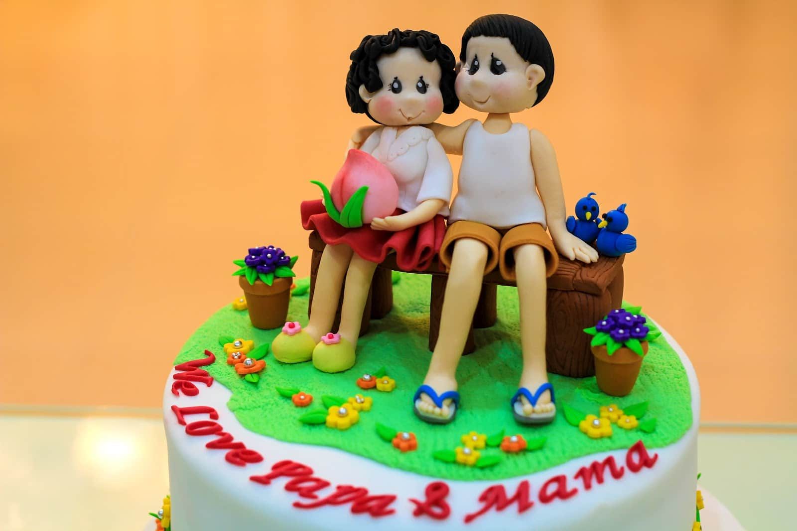 Parents Day Cake Image