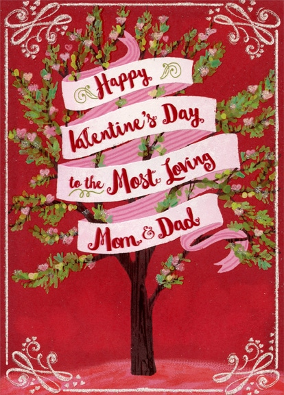 Parents Day Card For Mom & Dad
