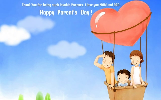 Parents Day Card For Mom