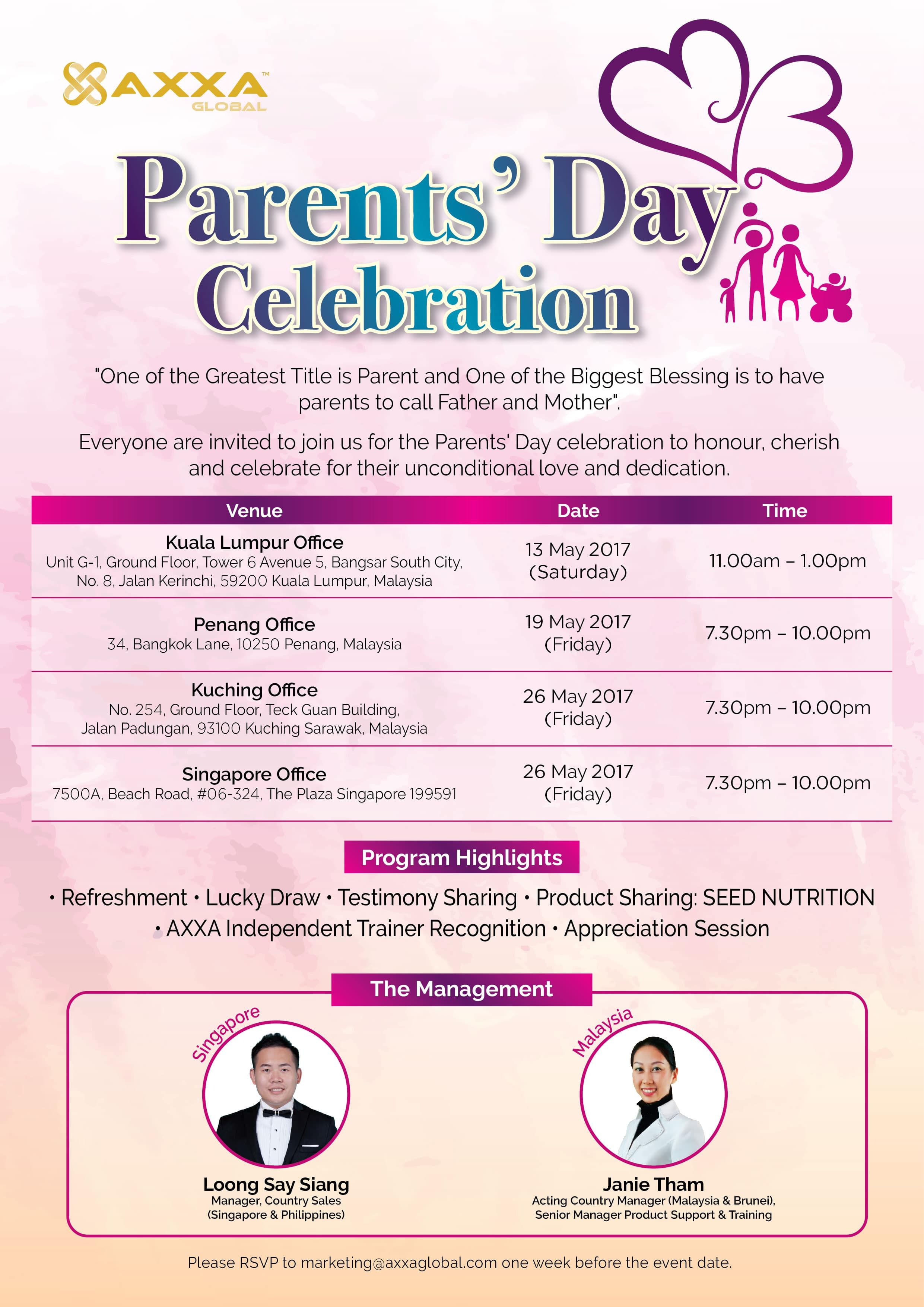 Parents Day Date 2017 Picture