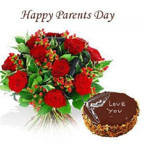 Parents Day Flowers Pic