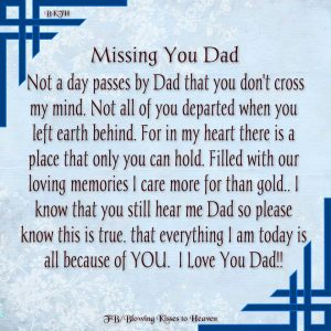 Parents Day Poems Chart For Dad