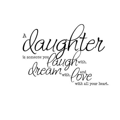 Parents Day Quotes Chart From Daughter