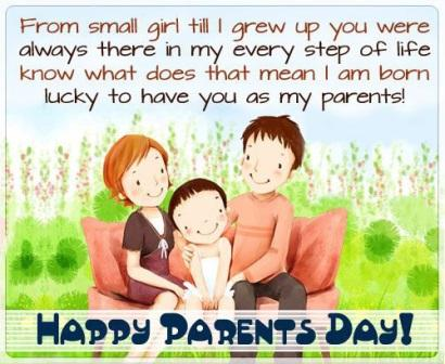 Parents Day Simple Quotes From Daughter