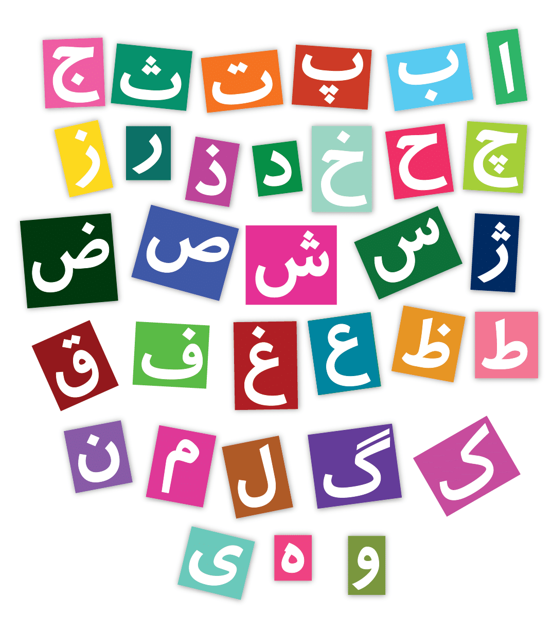 Persian Alphabet Image