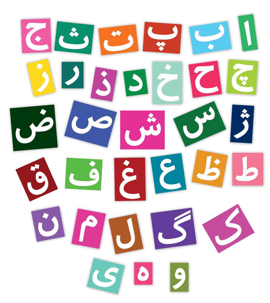 Persian Alphabet Image