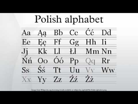 Polish Alphabet Phonetics