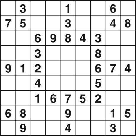Printable Easy Sudoku Puzzles