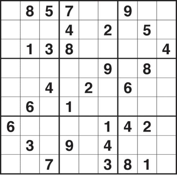 Printable Hard Sudoku 4 Per Page