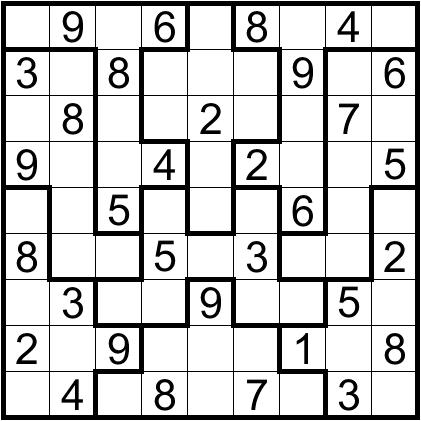Printable Loco Sudoku Puzzles