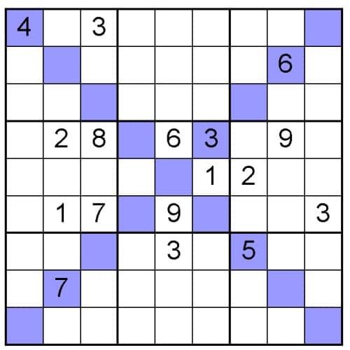 Printable Sudoku Image