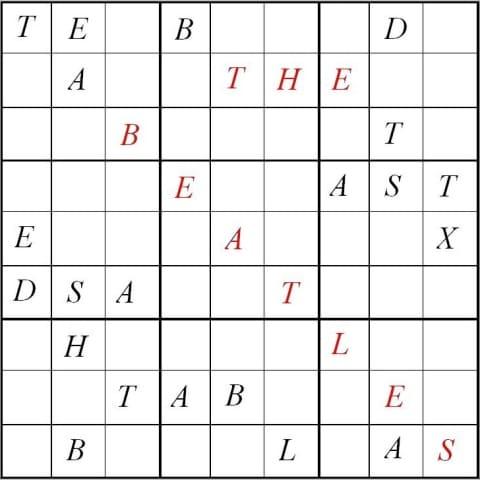 Printable Sudoku Picture