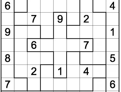Printable Sudoku Puzzles Game