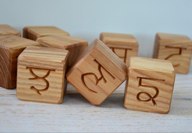 Punjabi Alphabet Blocks