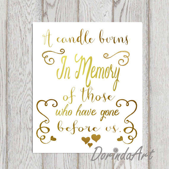 Remembrance Quotes for Wedding