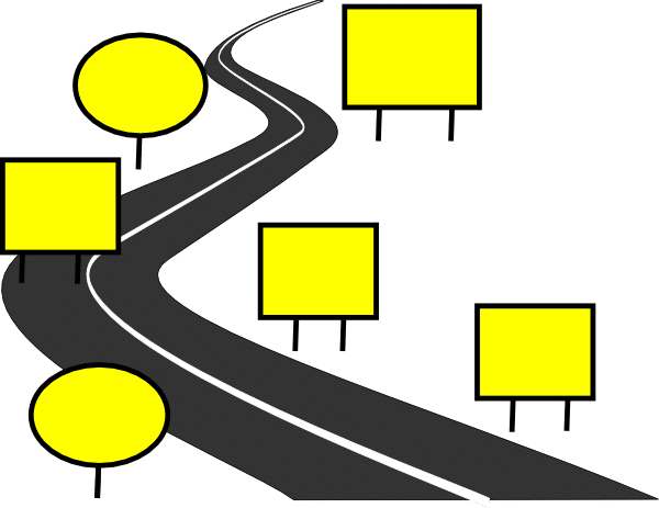 Road Map Clipart