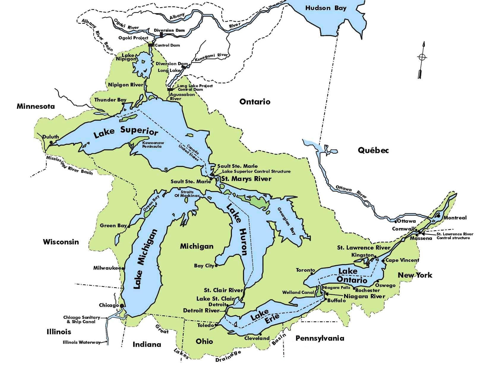 Road Map USA Image