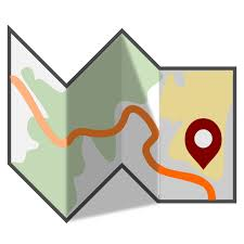 Route Map Clipart