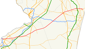 Route Map Vector