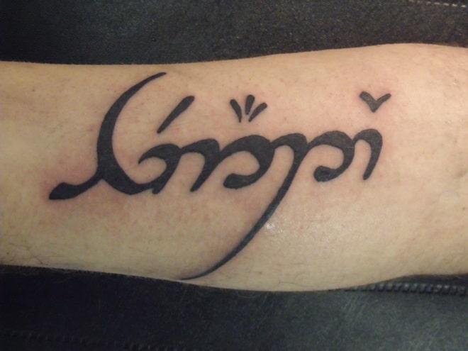 Runic Alphabet Tattoo
