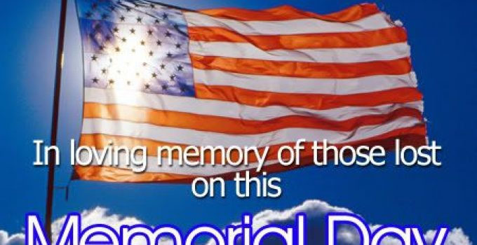 Save Memorial Day Wishes