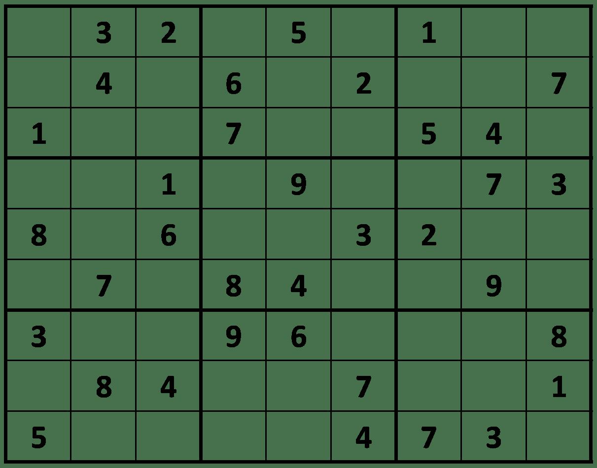 Save Printable Sudoku Puzzles