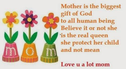 Short Message for Mother Day