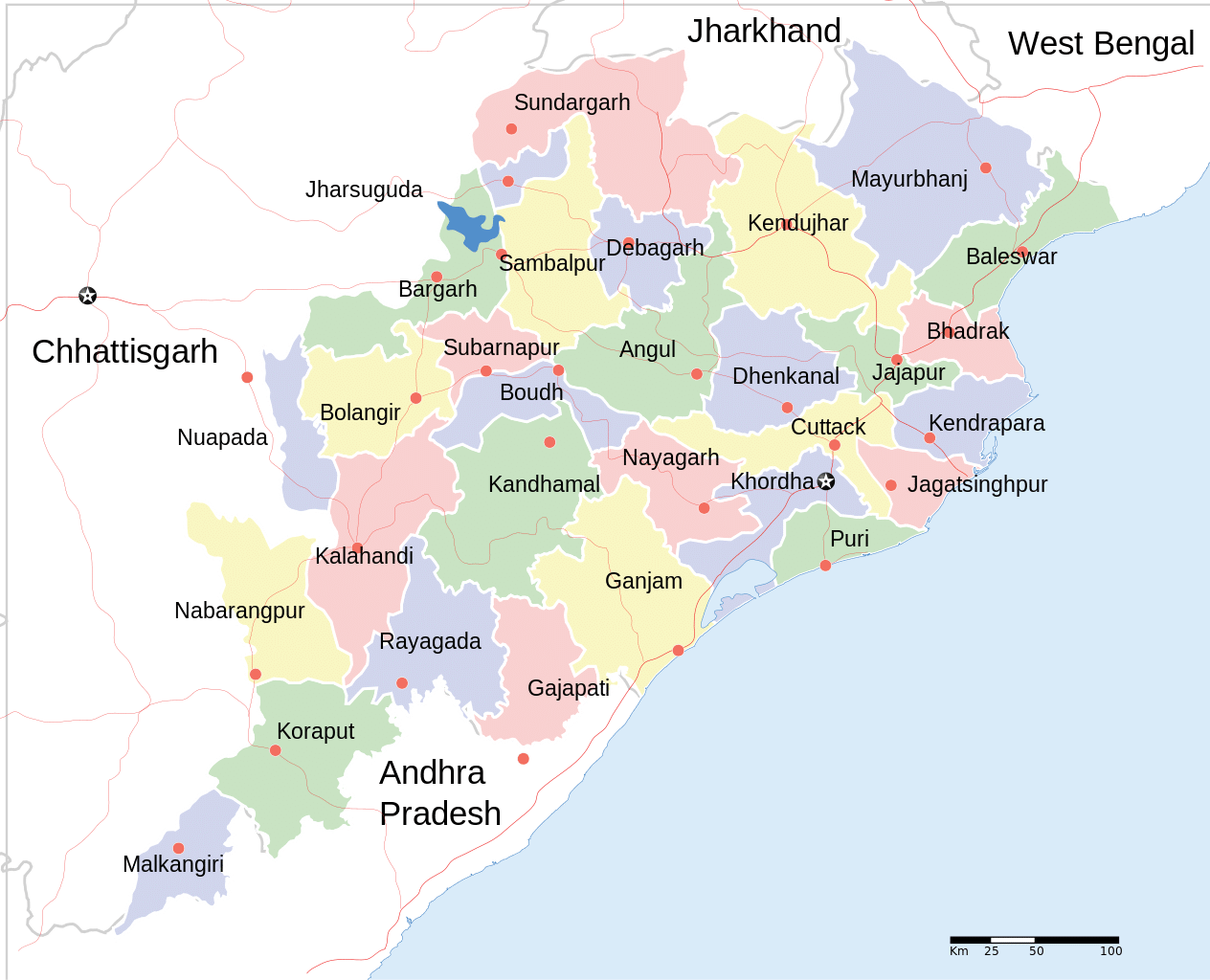 State Map Image
