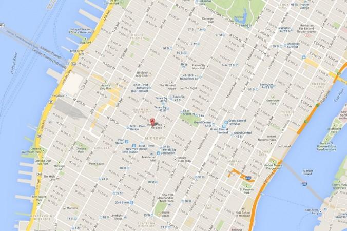 Street Map Manhattan Google