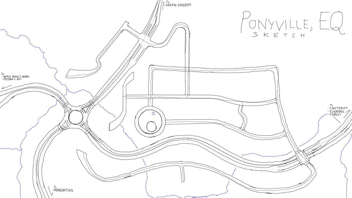 Street Map Sketch