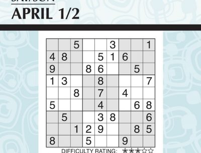 Sudoku 2017 Calendar
