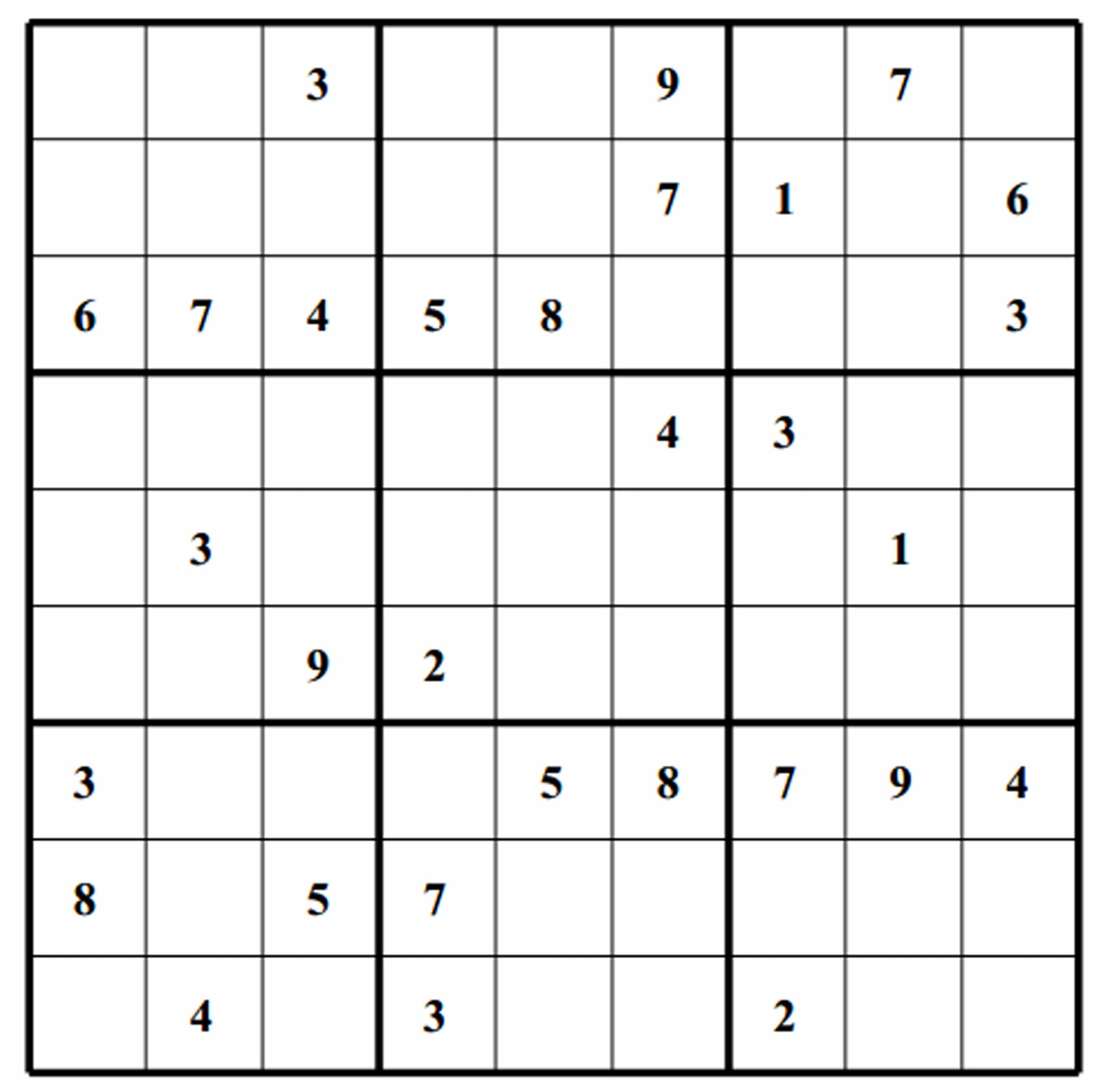 picture about Blank Sudoku Printable known as Sudoku Blank Estimate Pics High definition Free of charge