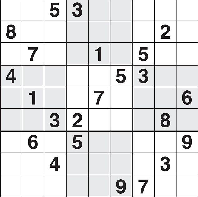 Sudoku Daily Mail