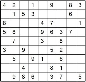 Sudoku Easy Super Printable