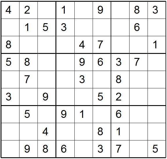 Sudoku Easy Super Printable