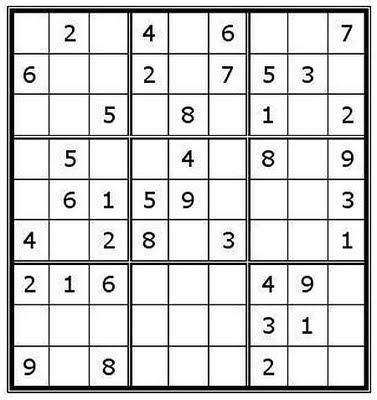 Sudoku For Kids Worksheet