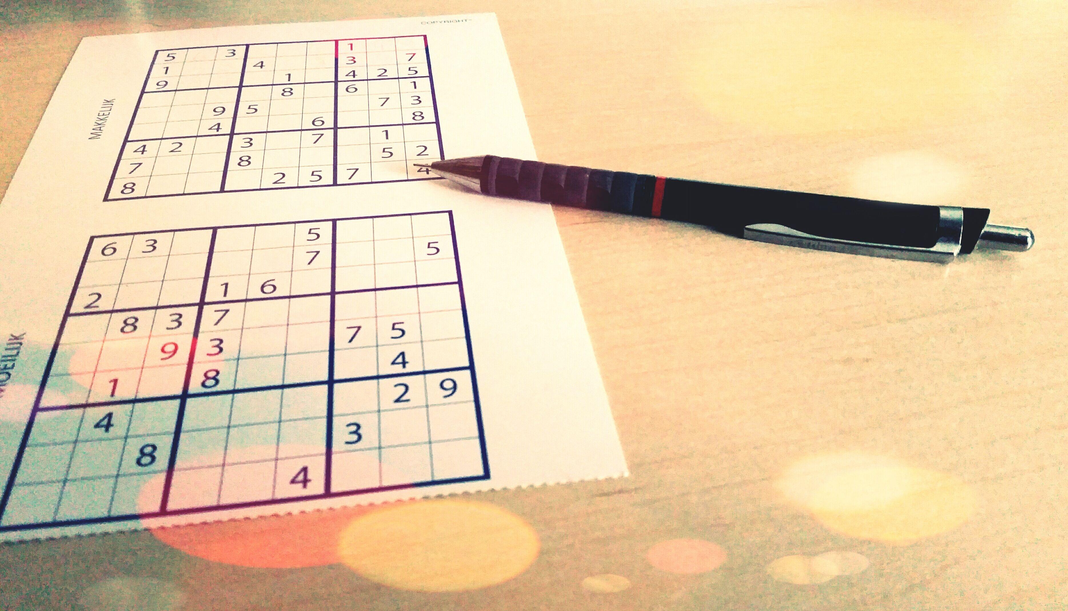 Sudoku Free Game Sheet