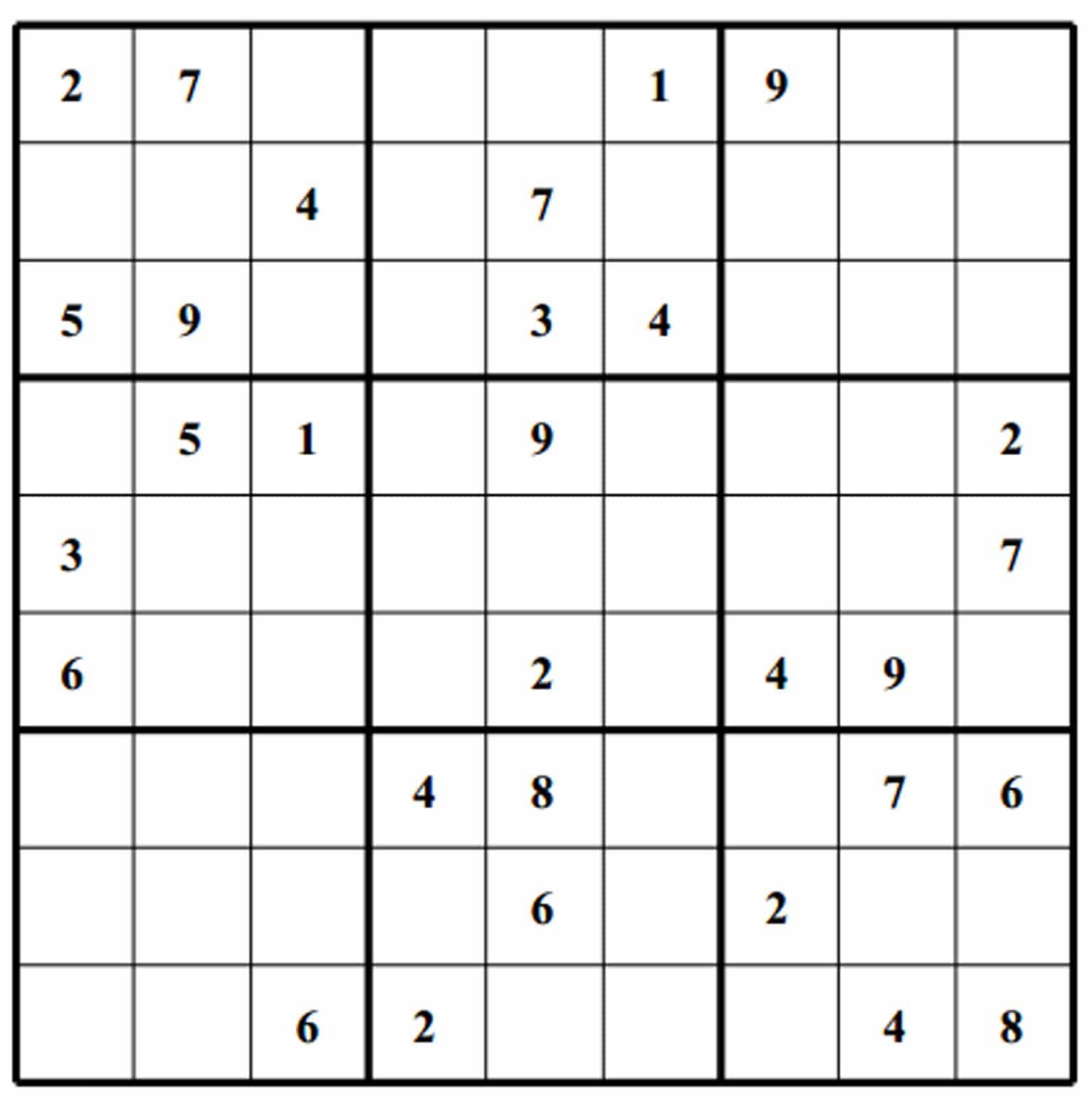Sudoku Free Image