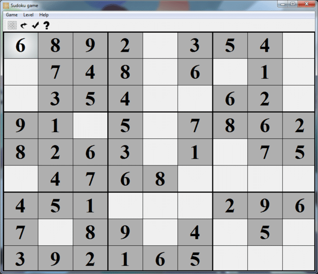Sudoku Game Free Online