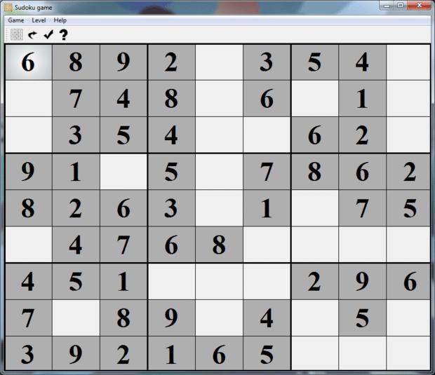 Sudoku Game Free Online