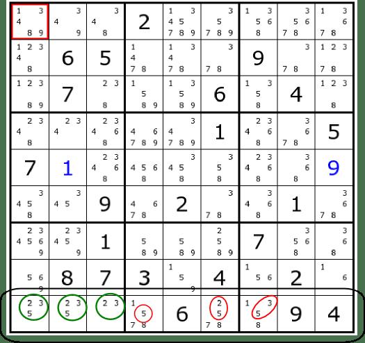 Sudoku Hint Tricks