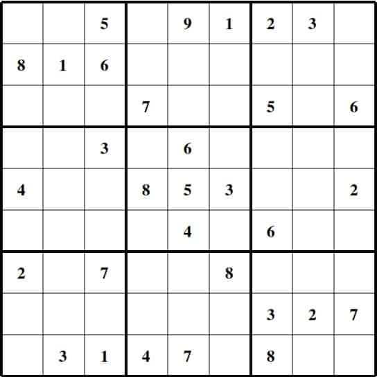 Sudoku Images Medium