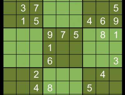 Sudoku Medium Easy